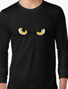 Squid Kid Eyes - Yellow Long Sleeve T-Shirt