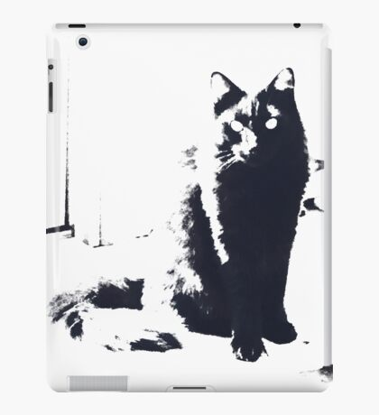 Dark Fluff iPad Case/Skin