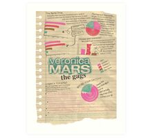 Veronica Mars - The Gags Art Print