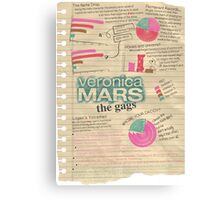 Veronica Mars - The Gags Canvas Print