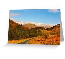 Duddon Valley Autumn Greeting Card