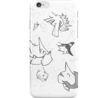 Doodle Heads iPhone Case/Skin