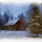 Winter Landscape by RitaLazaro