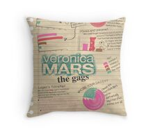 Veronica Mars - The Gags Throw Pillow