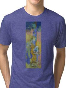 Feng Shui Parakeets Tri-blend T-Shirt