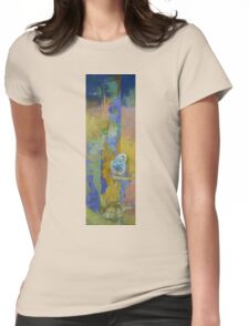 Feng Shui Parakeets Womens Fitted T-Shirt