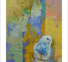 Feng Shui Parakeets Sticker
