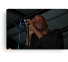 Steve Clisby Band, Jazz & Blues, Australia 2009 Canvas Print