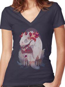 Bad Girl Women's Fitted V-Neck T-Shirt