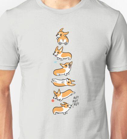 Cutie Corgis Unisex T-Shirt