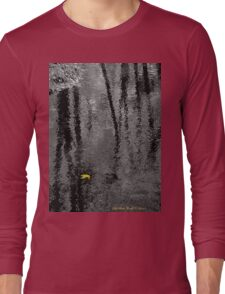 Just One - (Select Color-Focal Black and White) Long Sleeve T-Shirt