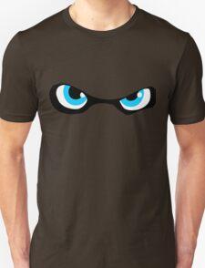 Squid Kid Eyes - Cyan Unisex T-Shirt