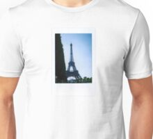 Eiffel Tower Polaroid Unisex T-Shirt