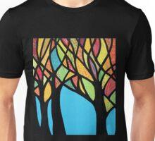 Fall trees Unisex T-Shirt