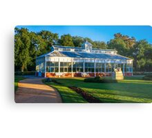 Early Morning at the Conservatory - Bendigo, Victoria Metal Print