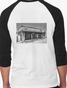 Royal Gorge Bridge Town Pre-Fire  Men's Baseball ¾ T-Shirt