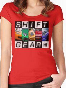 Shift Gear Women's Fitted Scoop T-Shirt
