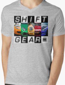 Shift Gear Mens V-Neck T-Shirt