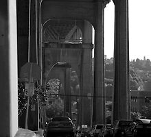 Under a bridge by Rene Fuller