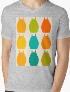 Totoro colors Mens V-Neck T-Shirt