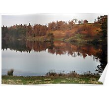 Tarn Hows - Autumn Colours Poster