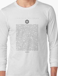 The Library of Babel Long Sleeve T-Shirt