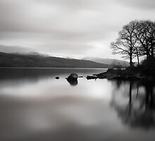 Coniston 05 - View Across Coniston Water, Lake District, Cumbria by ExclusivelyMono
