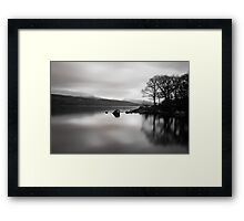 Coniston 05 - View Across Coniston Water, Lake District, Cumbria Framed Print