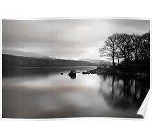 Coniston 05 - View Across Coniston Water, Lake District, Cumbria Poster