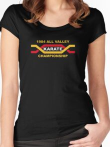1984 All Valley Championship Women's Fitted Scoop T-Shirt