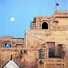Full Moon Over Jaisalmer by Sarah Jane Bingham