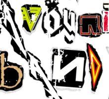 Your Favourite Band SUCKS Sticker
