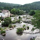 River Dee at Llangollen by Paul  Green