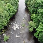 River Dee from the Pontycysyllte Aqueduct by GreenPeak