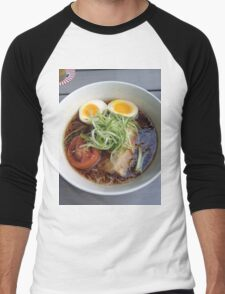 Ramen with Tomato Men's Baseball ¾ T-Shirt