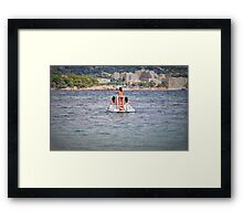 Come in number 6....... Framed Print
