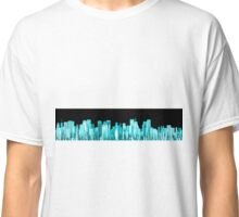 Hologram city panorama Classic T-Shirt