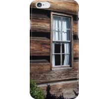 White Curtains iPhone Case/Skin