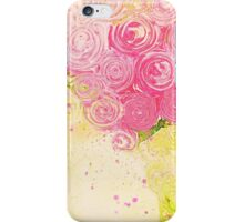 Pink Painterly Bouquet iPhone Case/Skin