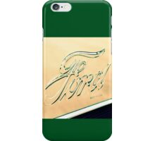A Hint Of Kelly Green iPhone Case/Skin