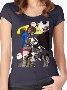 Bird Life  Women's Fitted Scoop T-Shirt