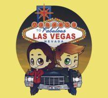 Winchesters in Vegas Kids Tee