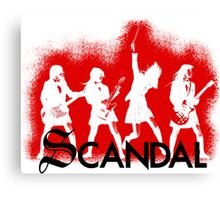 Scandal! Canvas Print