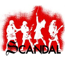 Scandal! Photographic Print