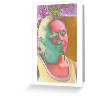 Substance Over Image Greeting Card