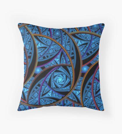 LazyJulian Stitch Throw Pillow