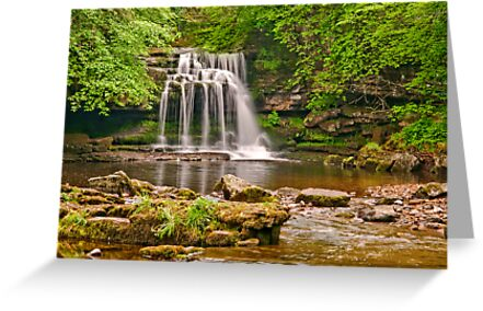 West Burton Falls by Stephen Knowles