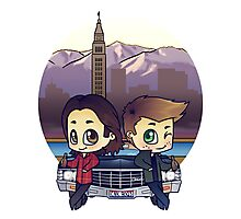 Winchesters in Denver Photographic Print