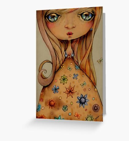 Antique Kisses Greeting Card