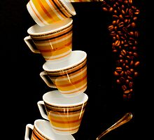 Tumbling Cups by Stephen Knowles